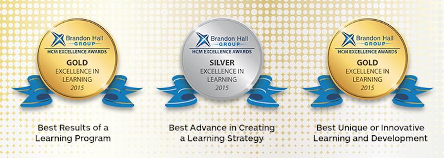3 Brandon Hall awards