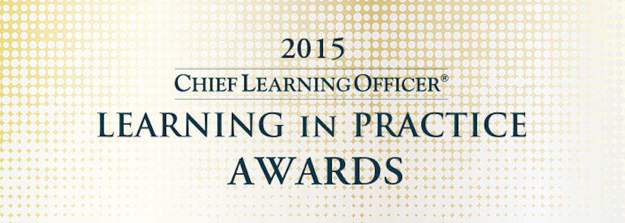 CLO Learning in Practice 2015 Gold Award