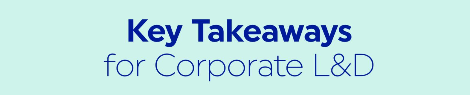 Corporate L&D