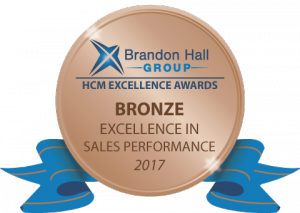 Bronze Brandon Hall Excellence in Learning Award