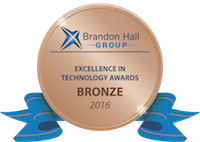 1 bronze Brandon Hall award