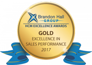 Gold Brandon Hall Excellence in Learning Award