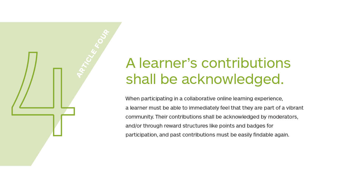 Article 4 of the Declaration of Modern Learner RIghts in detail
