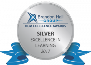 Silver Brandon Hall Excellence in Learning Award