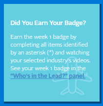 Did you earn your badge screenshot