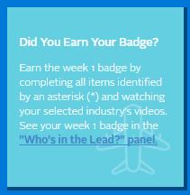 Did you earn your badge screenshot