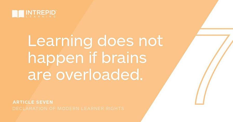 Article7 of the Declaration of Modern Learner Rights