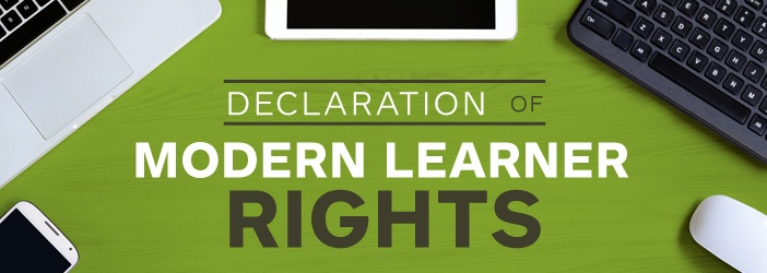 Introducing the Declaration of Modern Learner Rights